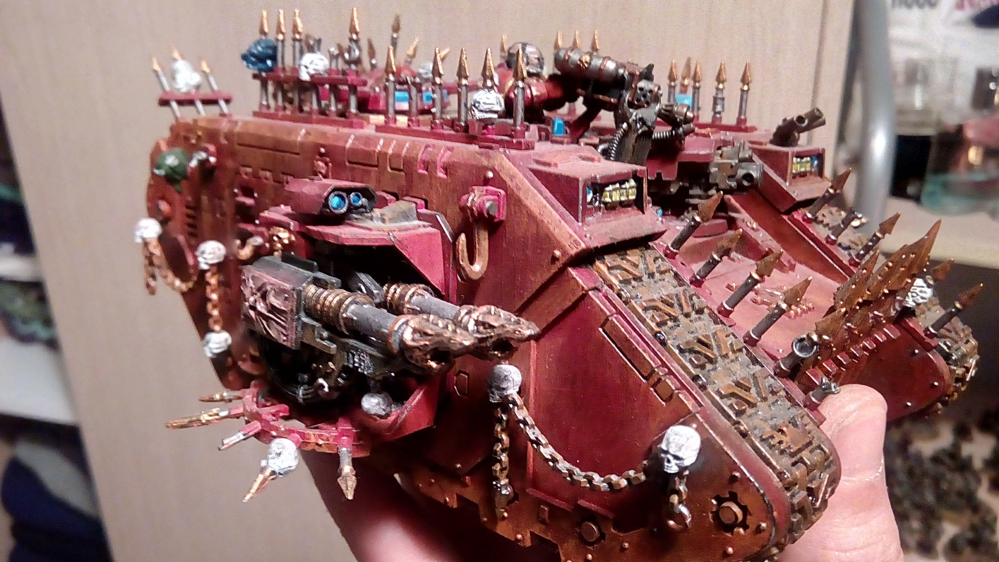 Chaos Land Raider, Chaos Space Marines, Crimson Slaughters