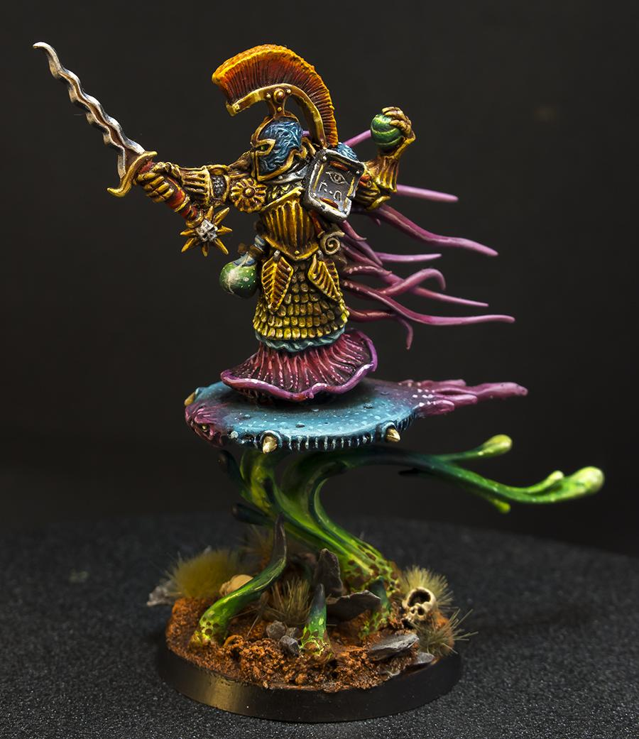 Champion, Chaos, Classic, Conversion, Disc, Fatemaster, Oldhammer, Realm Of Chaos, Tzeentch