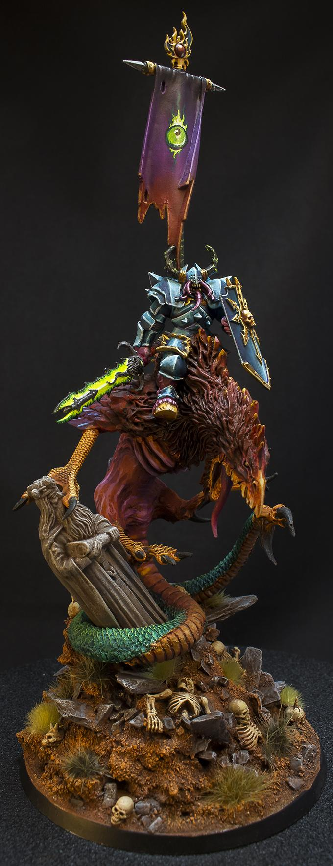 Age Of Sigmar, Chaos, Cockatrisse, Conversion, Daemonic Mount, Lord, Lord Of Tzeentch, Tzeentch, Warriors Of Chaos