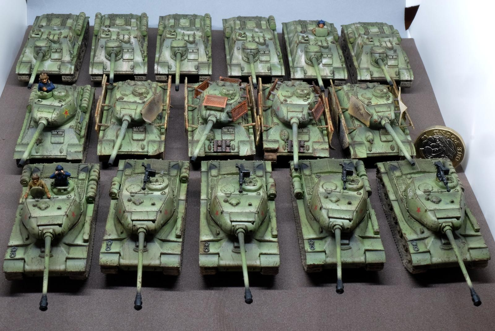 1/100, Army, Flames Of War, Historical, Russians, Soviet