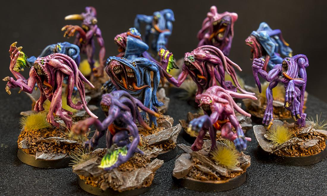 Age Of Sigmar, Chaos, Daemons, Horrors, Tzeentch