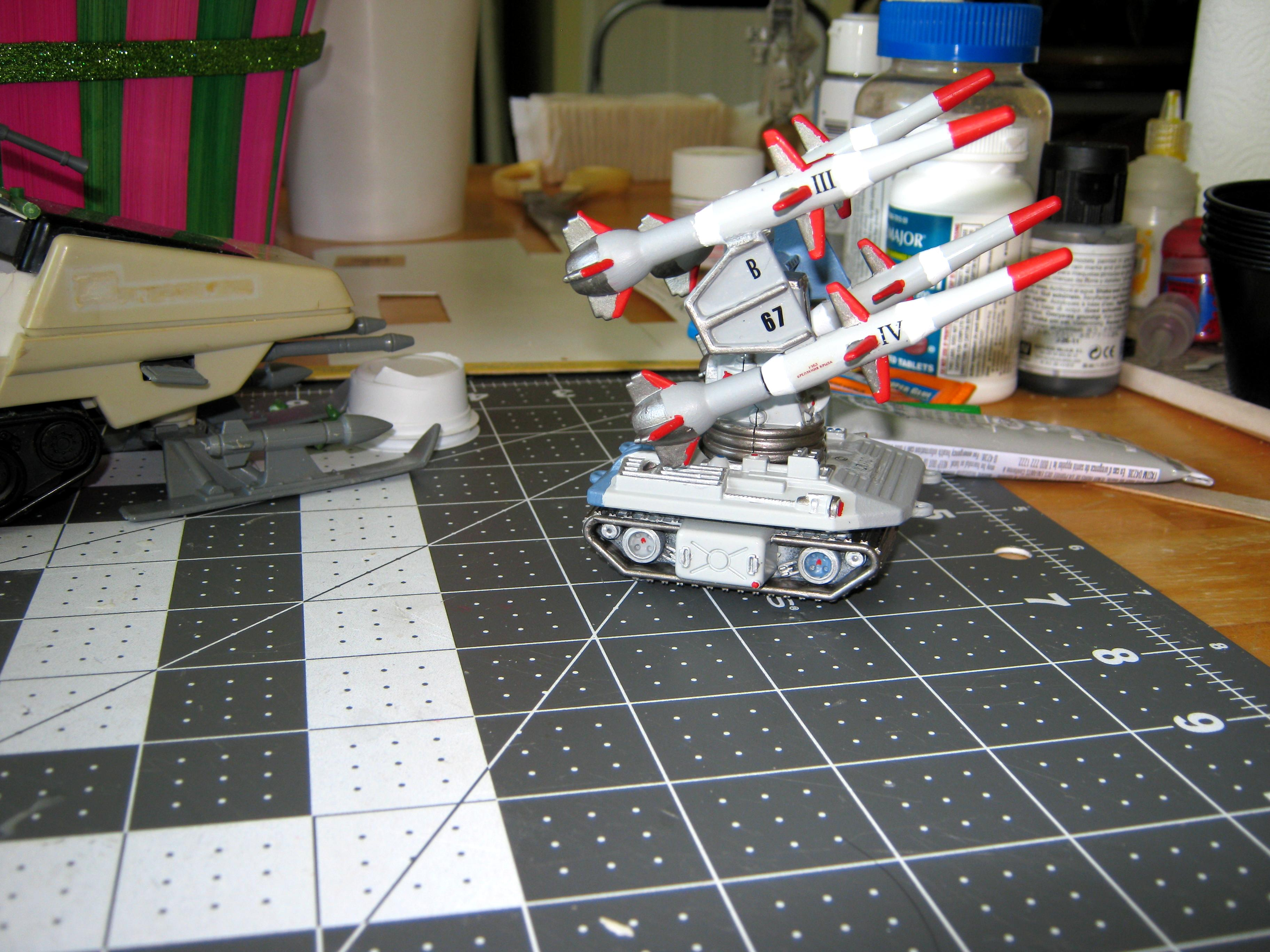 Artillery, Automata, Conversion, Drone, G.i. Joe, Imperial, Missile Launcher, Pac/rat, Remote Weapons System, Self-propelled, Toy