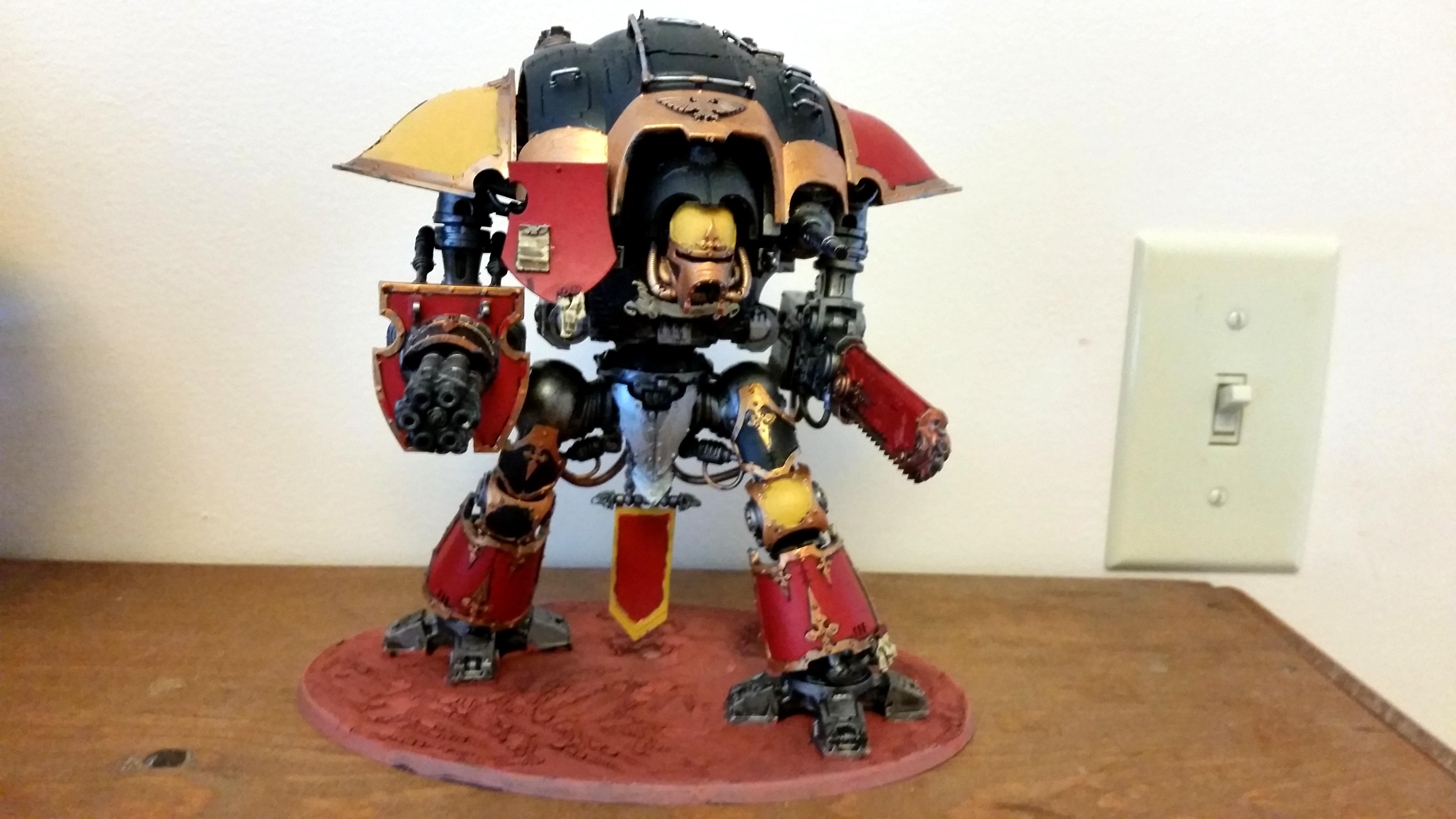 Imperial Knight, House Mortarian Knight