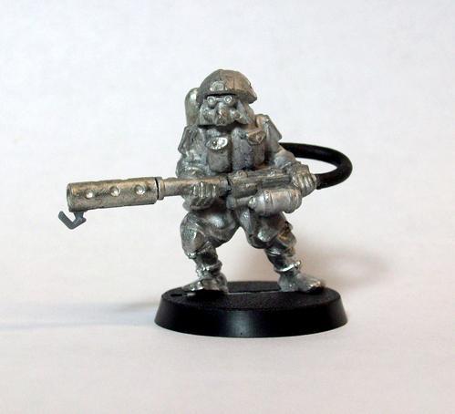 Astra Militarum, Conversion, Flamethrower, Imperial Guard, Kitbash, Retainer, Triad, Urban War, Void