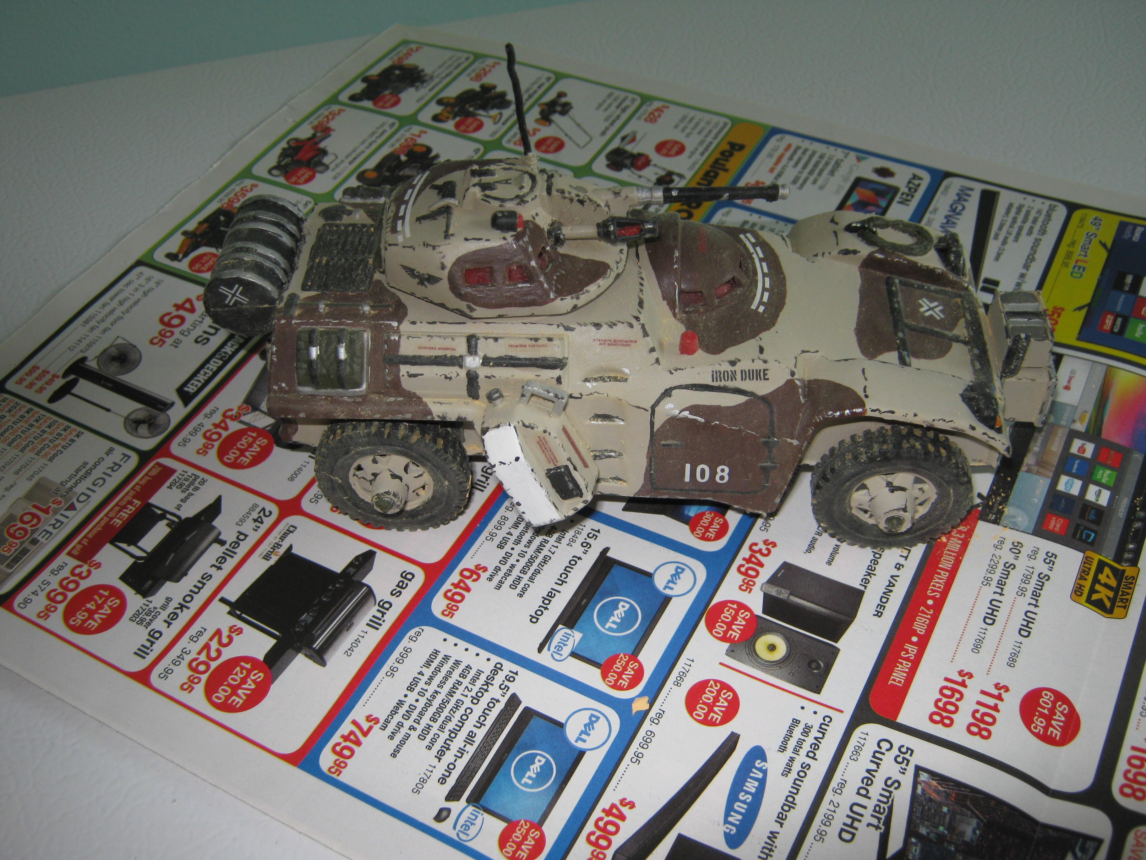 Afv, Armored Car, Conversion, Imperial, Processed Plastics Company, Recon Vehicle, Scouts, Timmee Toys, Toy