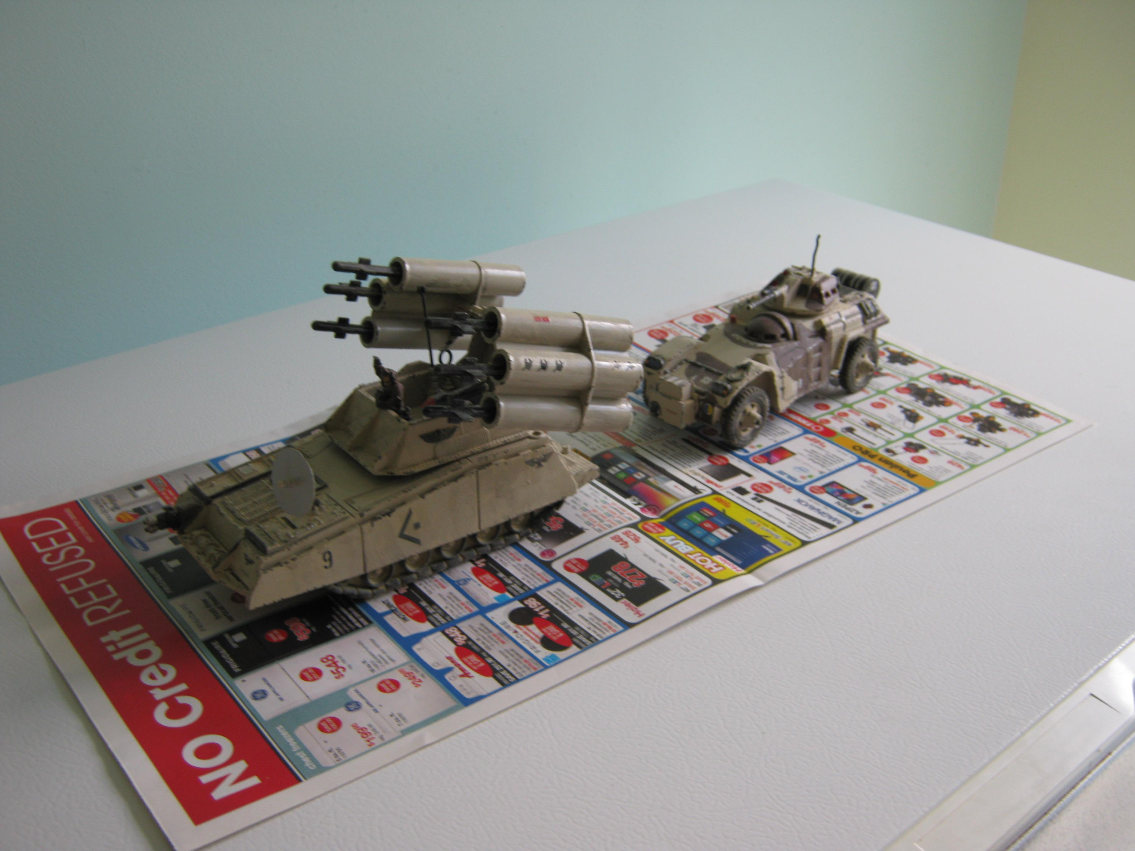 Adv, Afv, Air Defense Vehicle, Armored Car, Artillery, Conversion, Imperial, Mobile Sam System, Processed Plastics Company, Self-propelled, Timmee Toys, Toy