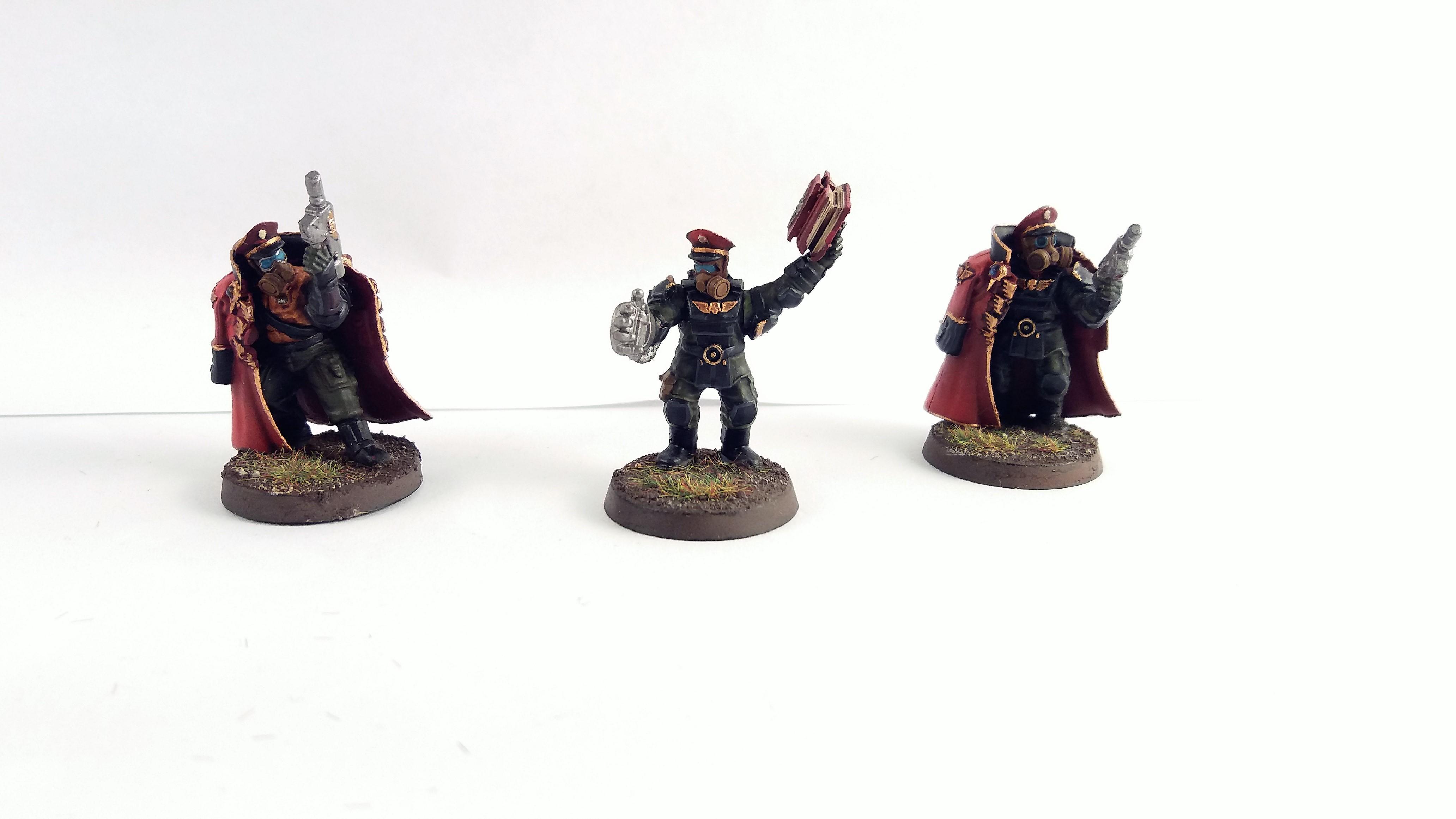 Astra Militarum, Guardsmen, Imperial Guard, Infantry