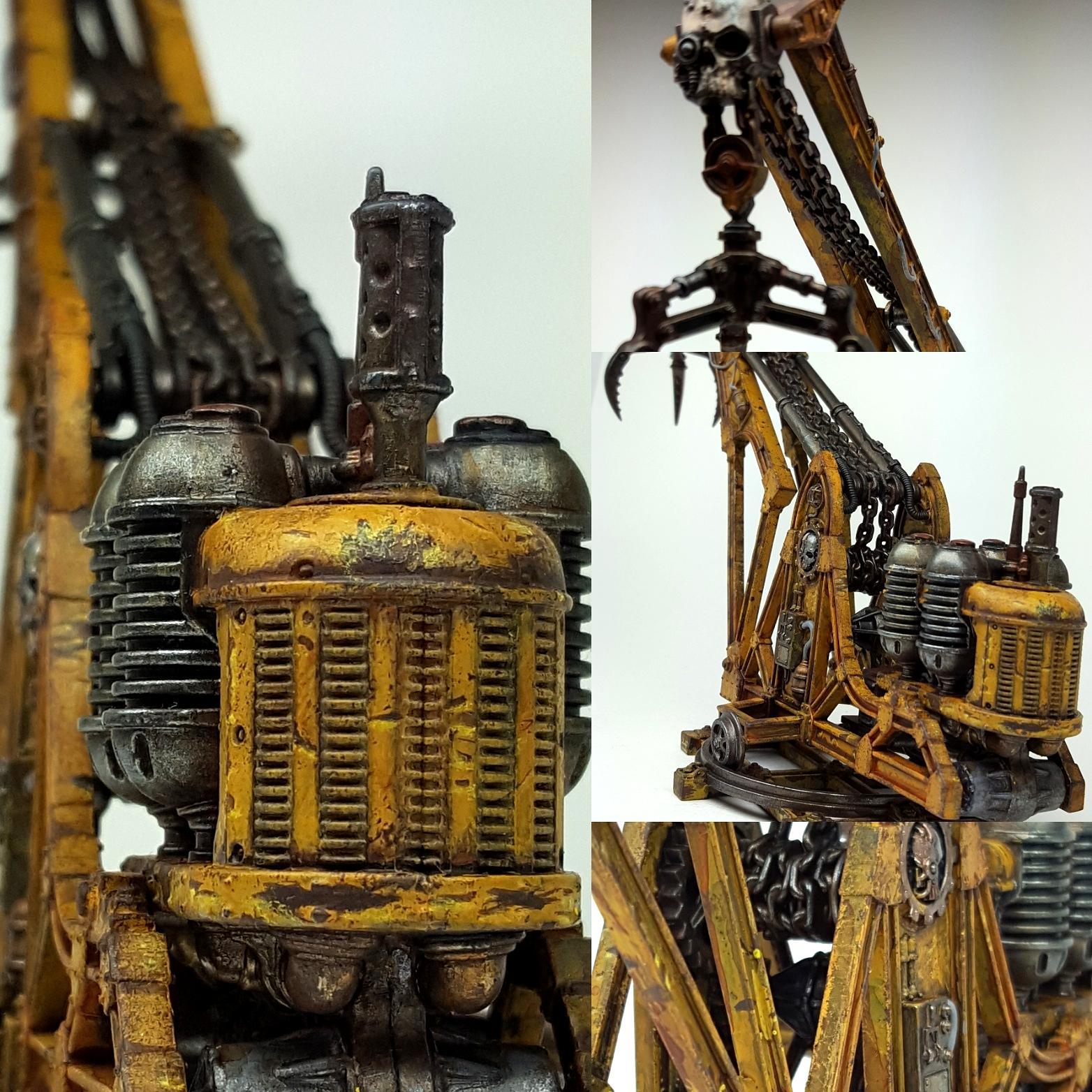 Crane, Mechanicus, Rust, Sector