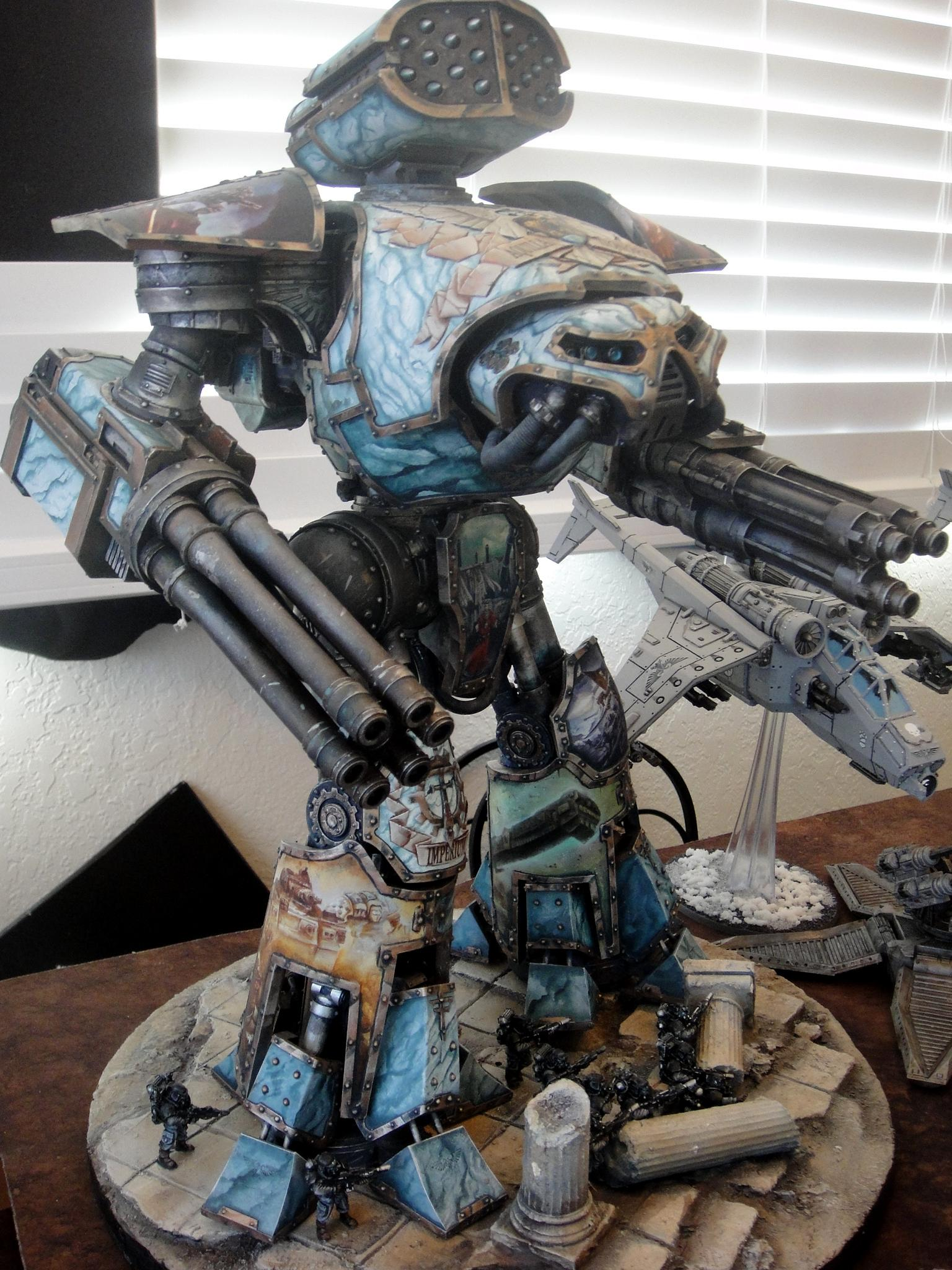 Astra Militarum, Imperial Guard, Infantry, Reaver, Titan, Vehicle