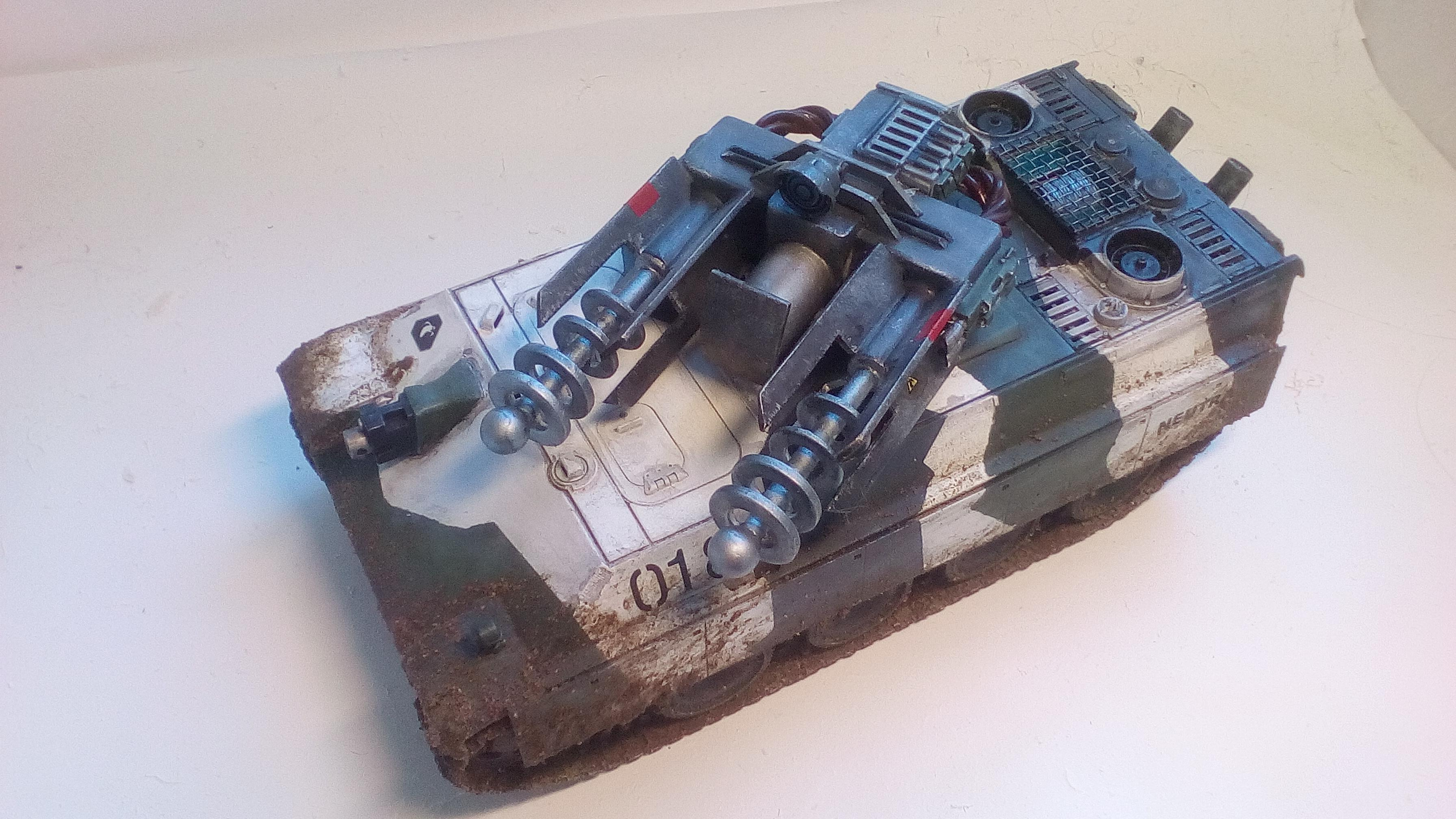 Conversion, Imperial Guard, Tesla Tank
