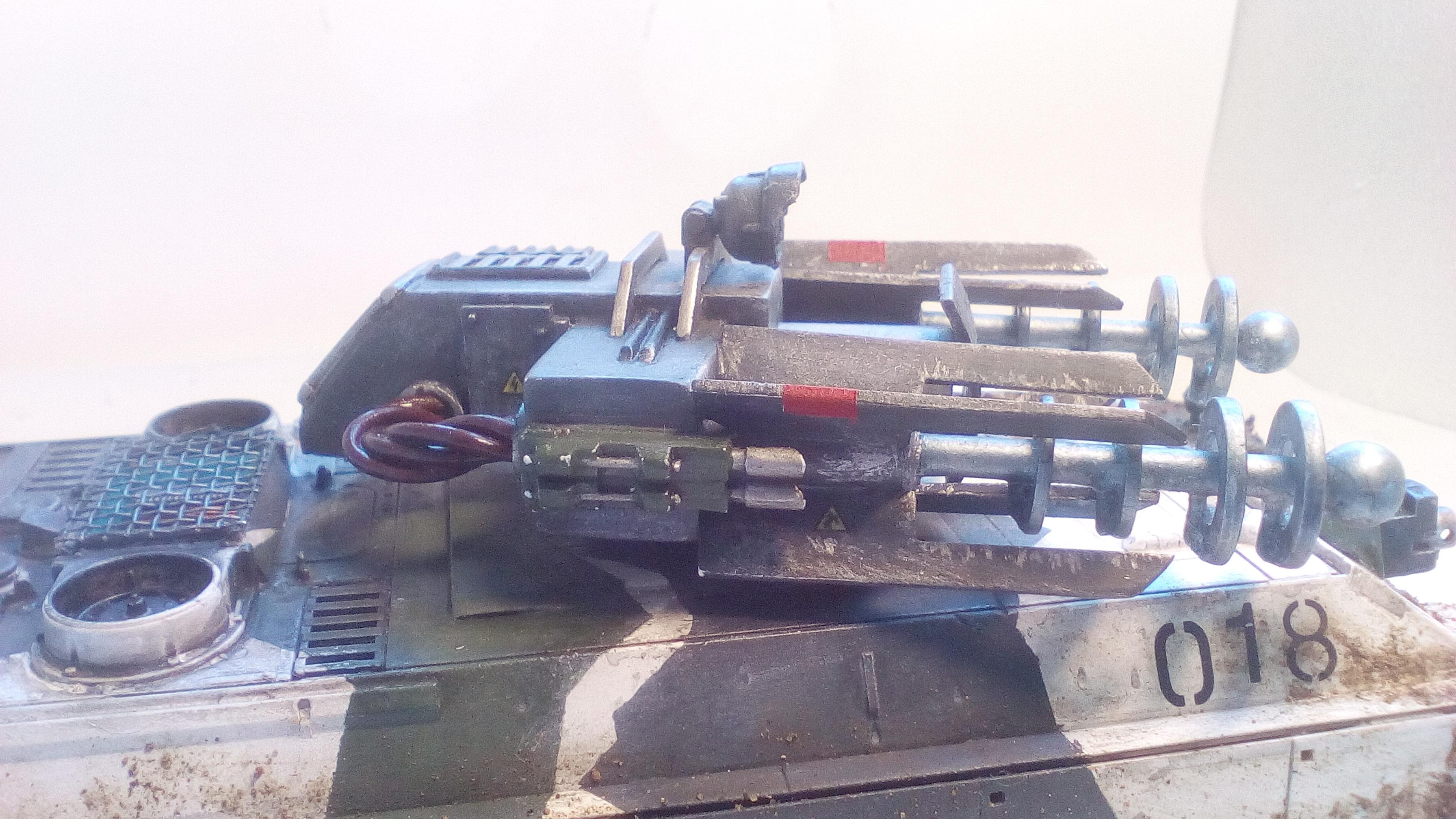 Conversion, Imperial Guard, Tesla Tank