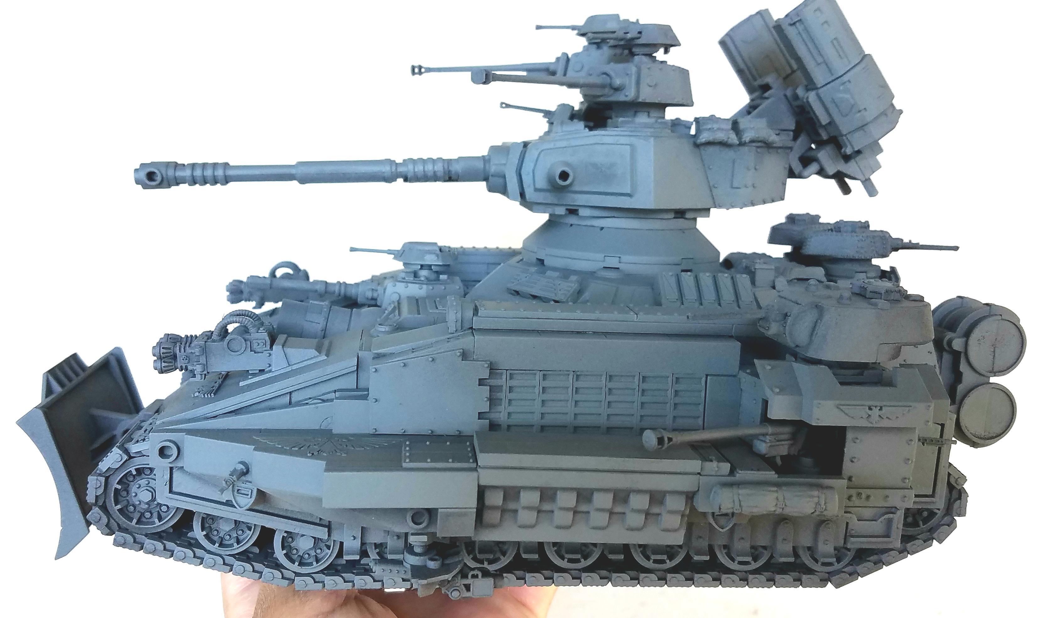 Armor, Army, Imperial Guard, Imperium, Man, Super Tank, Warhammer 40,000, Warhammer Fantasy