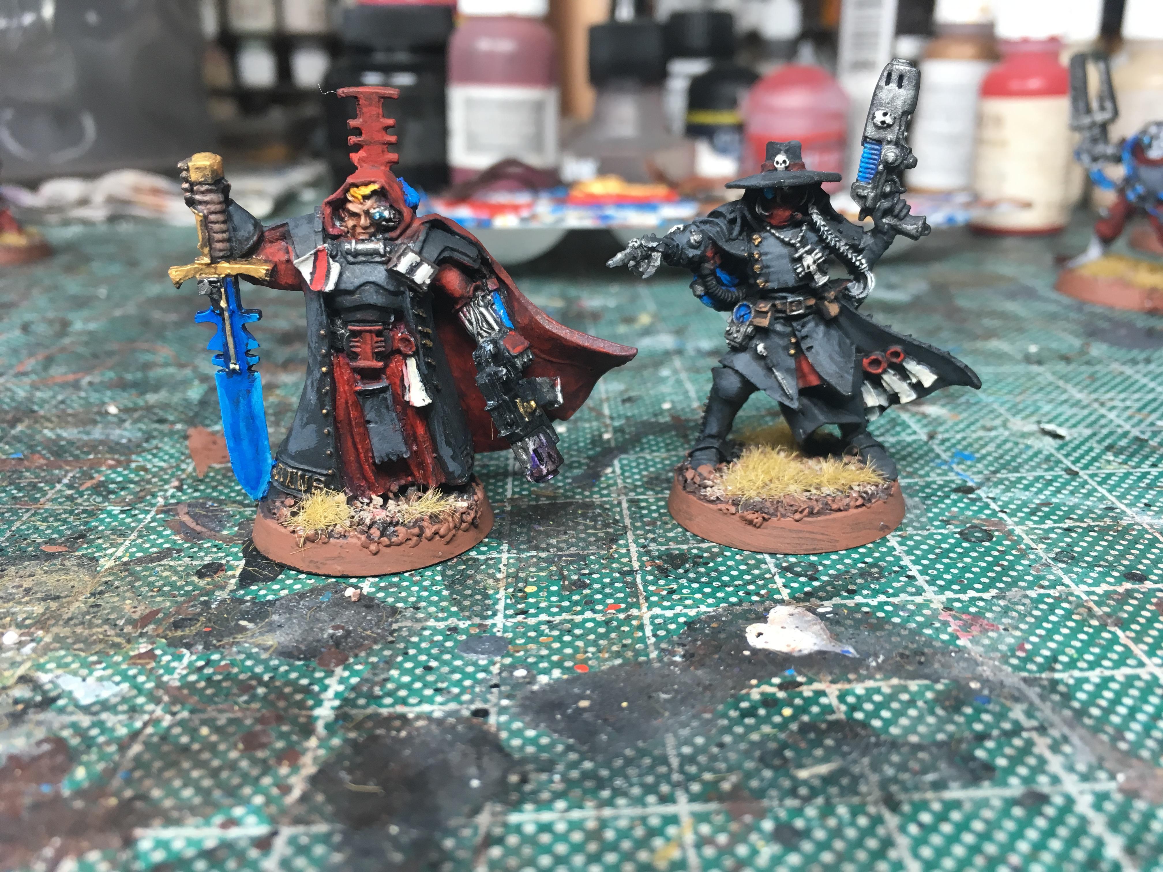 Demon Hunter, Gideon Lorr, Inquisitors, Witch Hunters