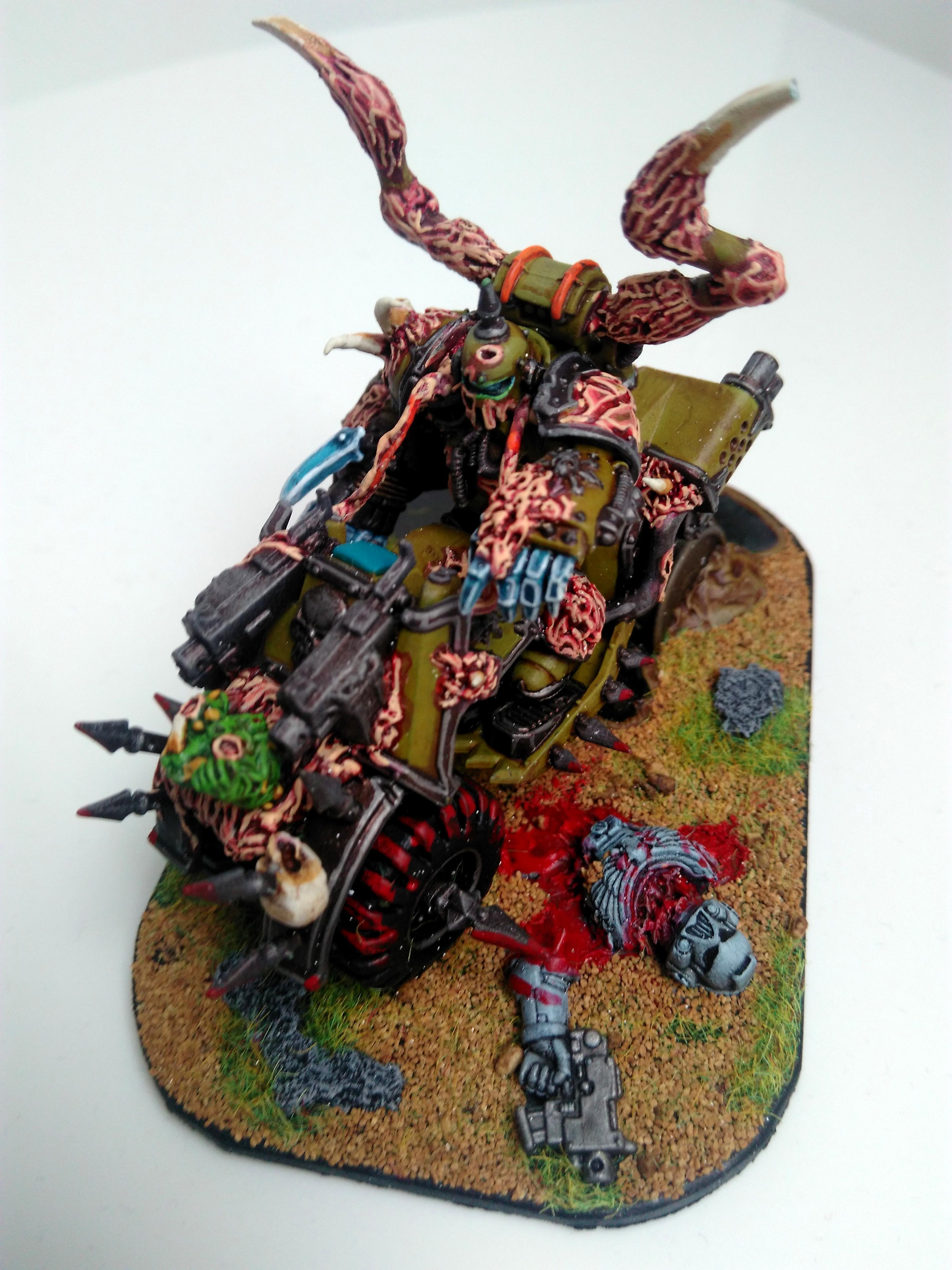 Bike, Death Guard, Warhammer 40,000