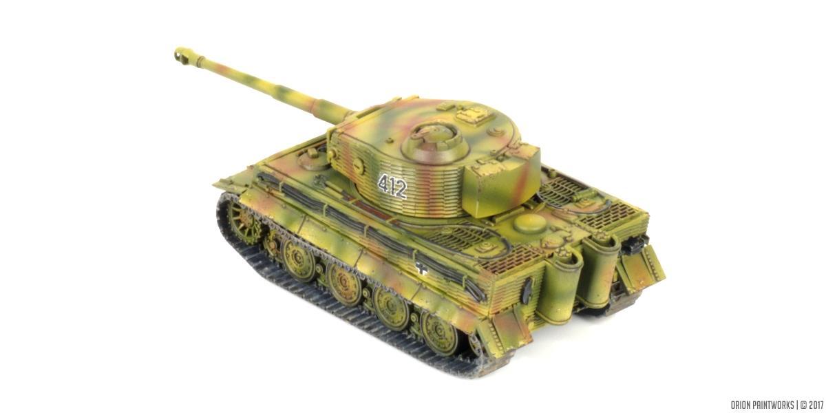 Flames Of War, Tiger, World War 2