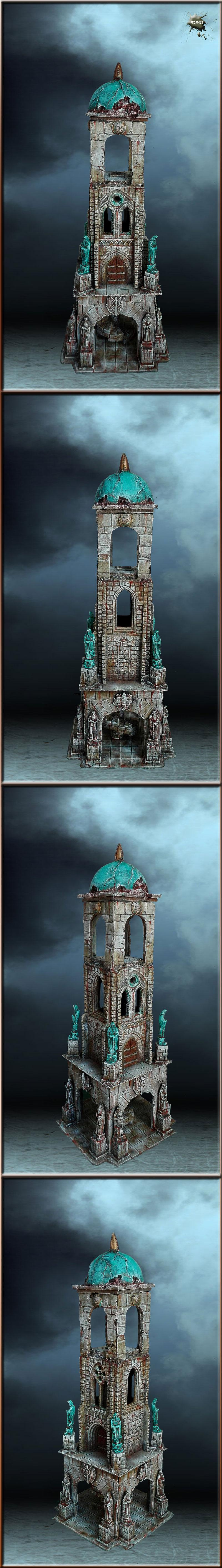 Gothic, Lord Of The Rings, Terrain, Tower