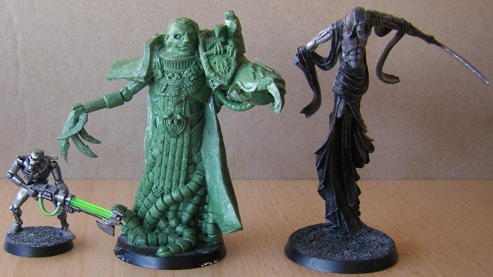 The Emperor of Mankind Size Comparison