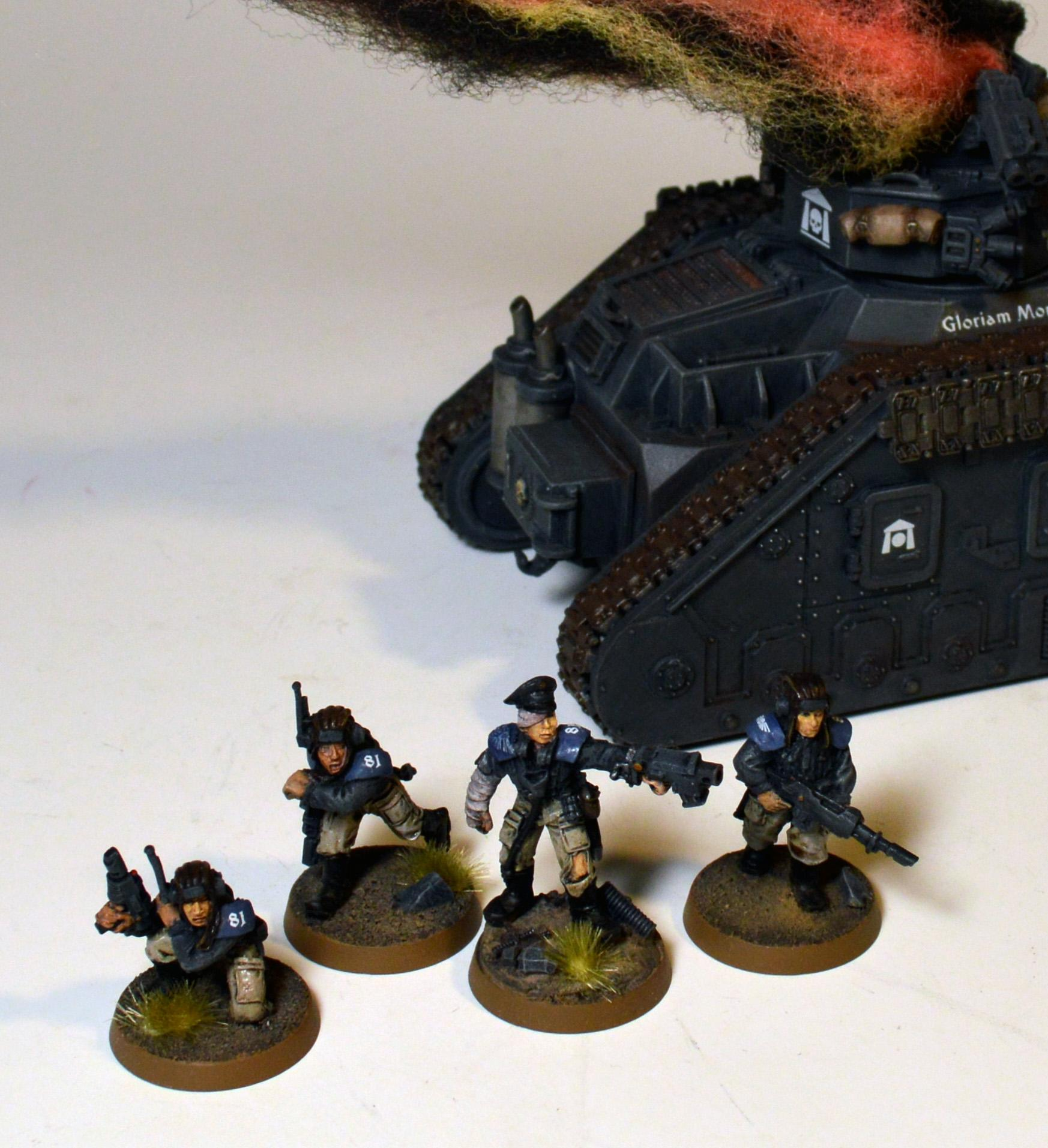 Abandoned Tank Crew, Astra Militarum, Imperial Guard, Last Chancers