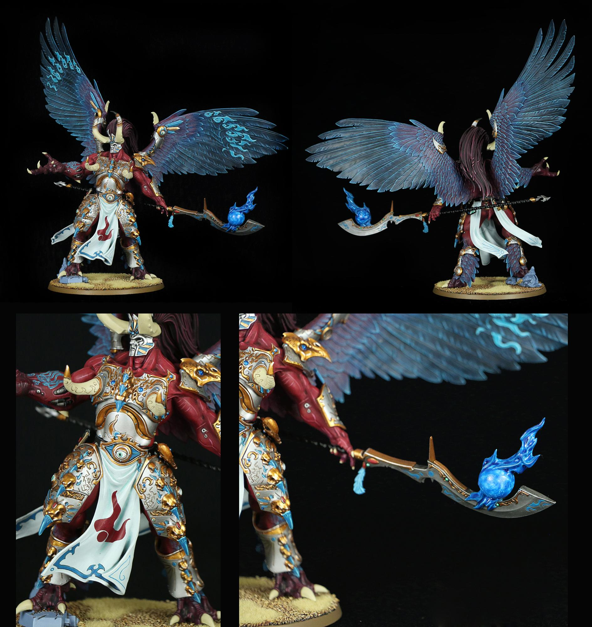 Magnus The Red, Primarch, Sons, The Red, Thousand, Thousand Sons Magnus The Red