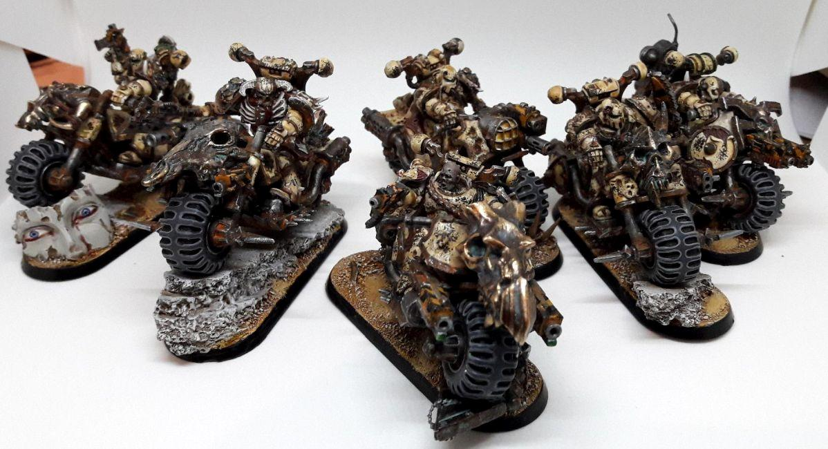 Bike, Chaos Space Marines, Conversion, Death Guard, Nurgle