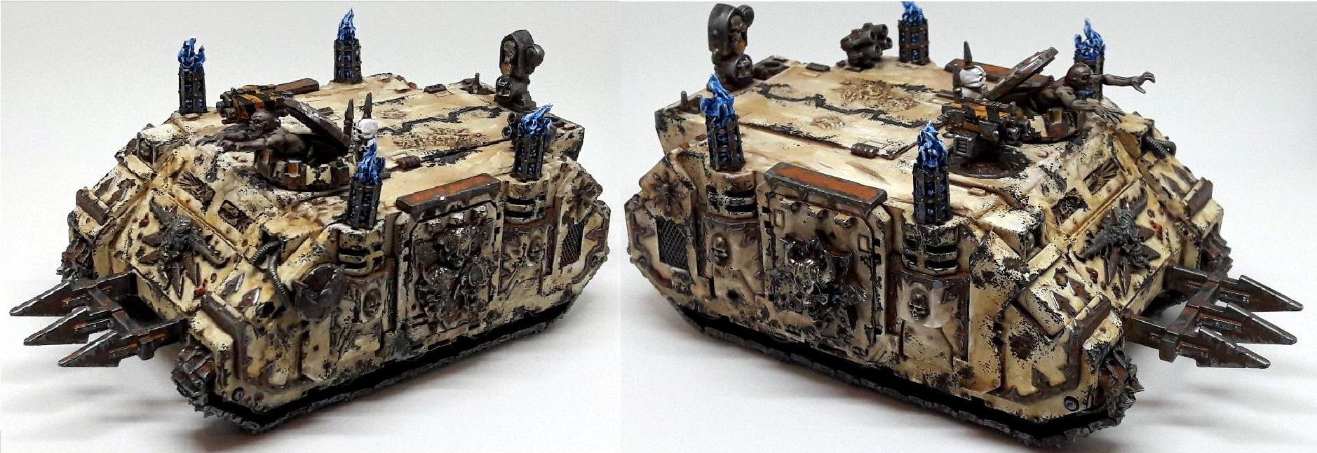 Chaos Space Marines, Conversion, Death Guard, Nurgle, Rhino
