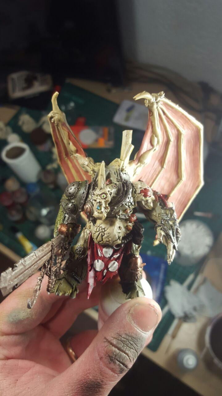 Armor, Blending, Chaos, Chaos Space Marines, Conversion, Daemon Prince, Death Guard, Dp, Eye, Nurgle, Winged