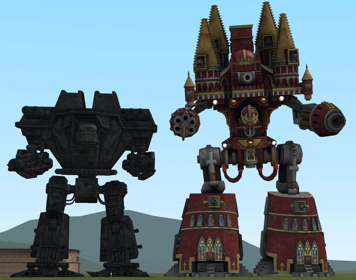 Imperiator, Titan, Warlord