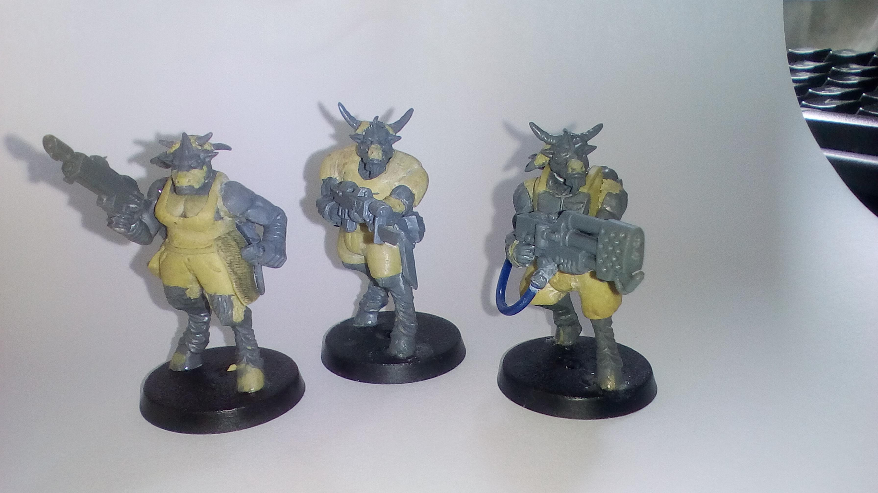 Beastmen in the Guard