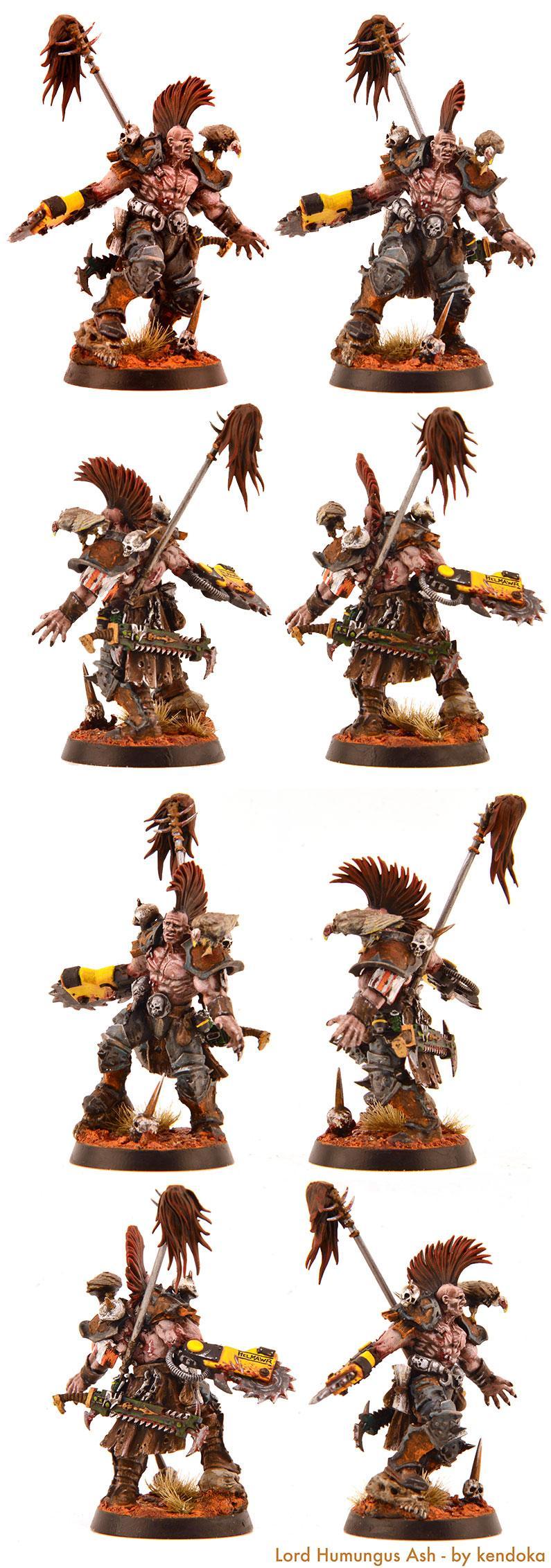 Armageddon Shadow War, Lord Humungus Ash, Mad Max, Necromunda
