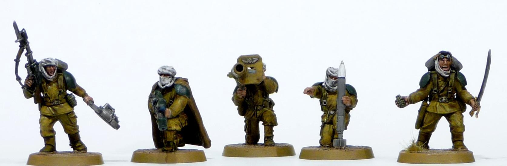 Conversion, Desert Raiders, Imperial Guard, Tallarn Desert Raiders
