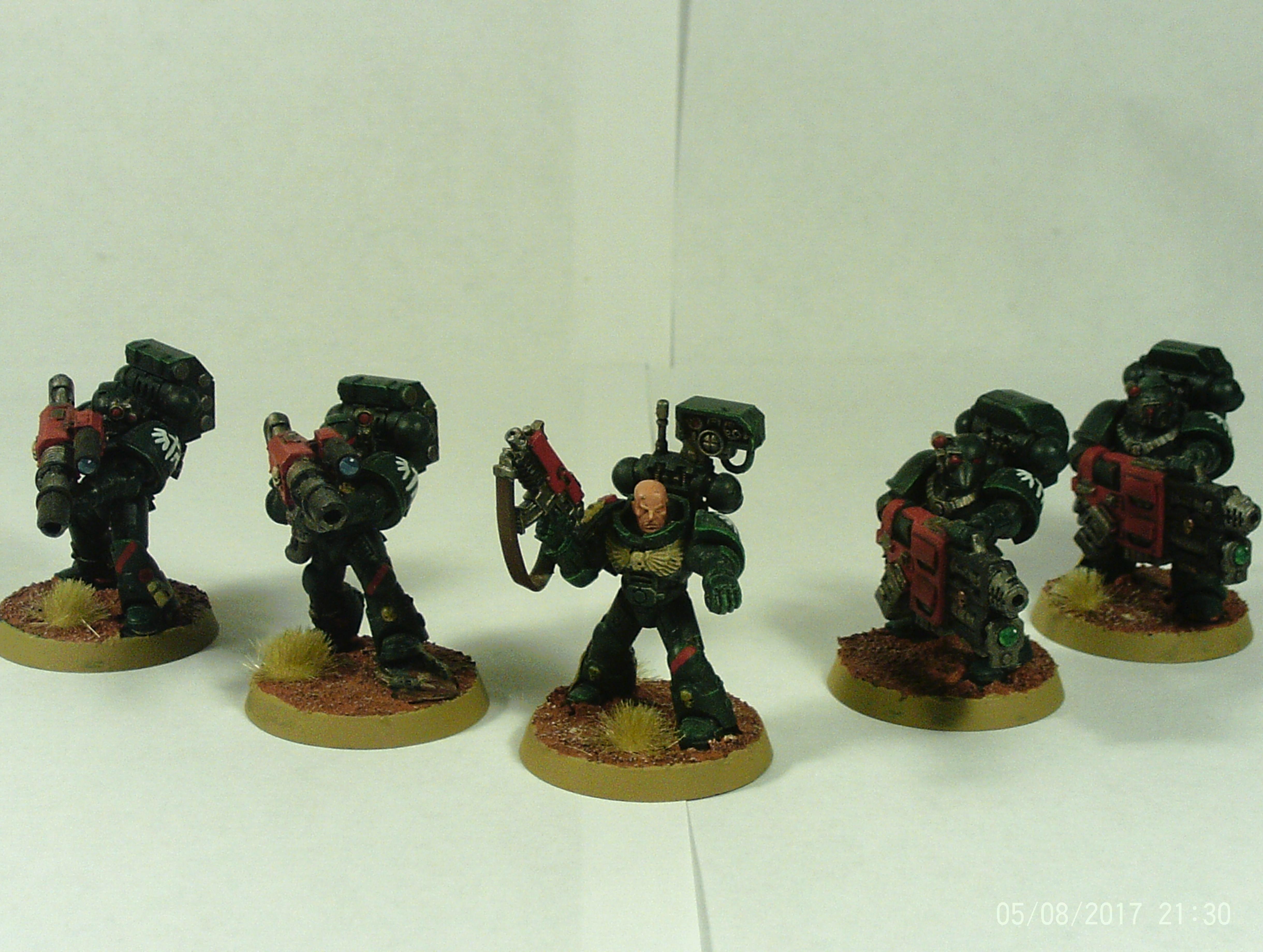 Angel, Cannon, Dark, Devastator, Grav, Heavy, Lascannon, Sergeant, Space, Space Marines, Squad