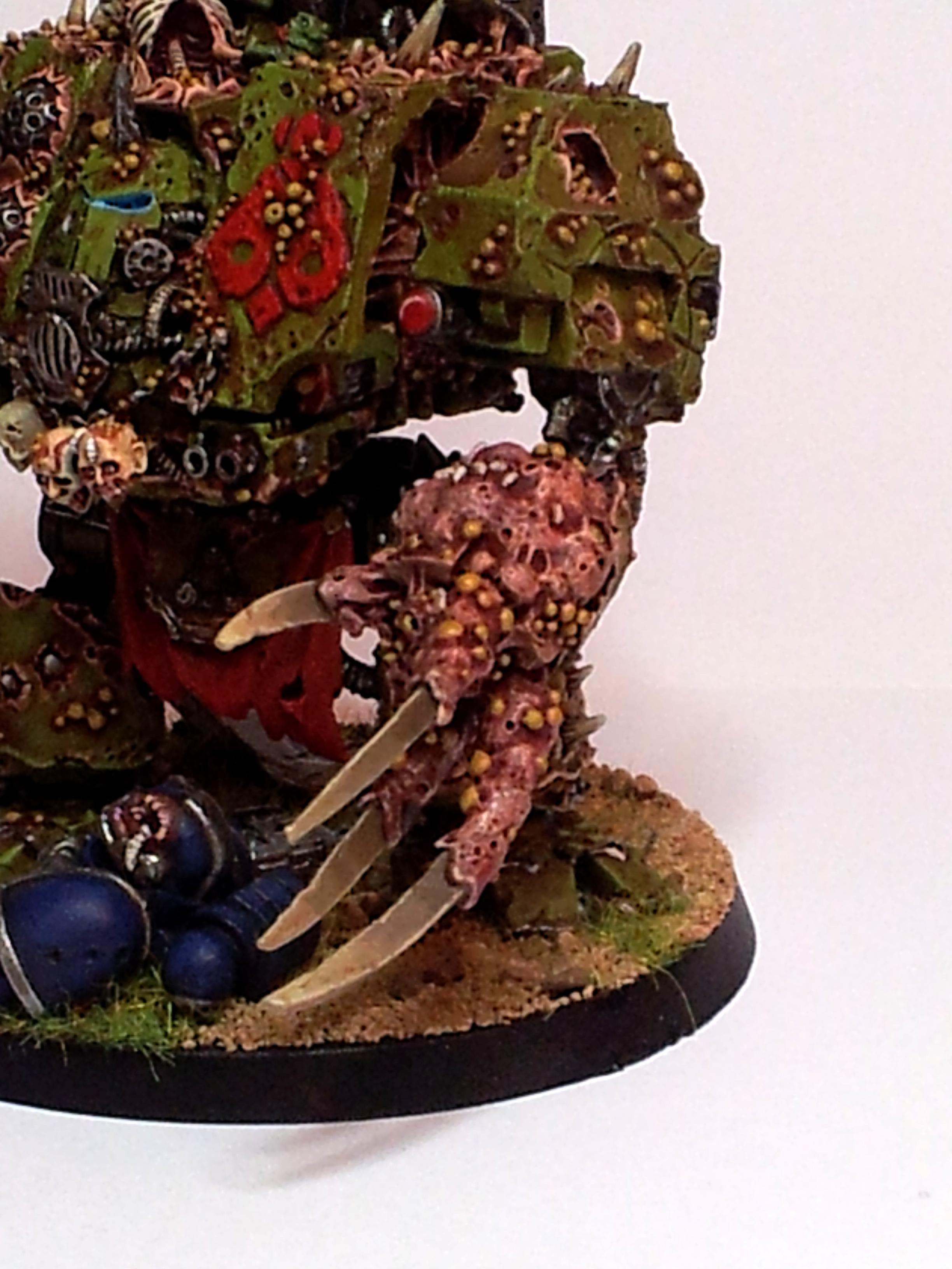 Death Guard, Dreadnought, Helbrute