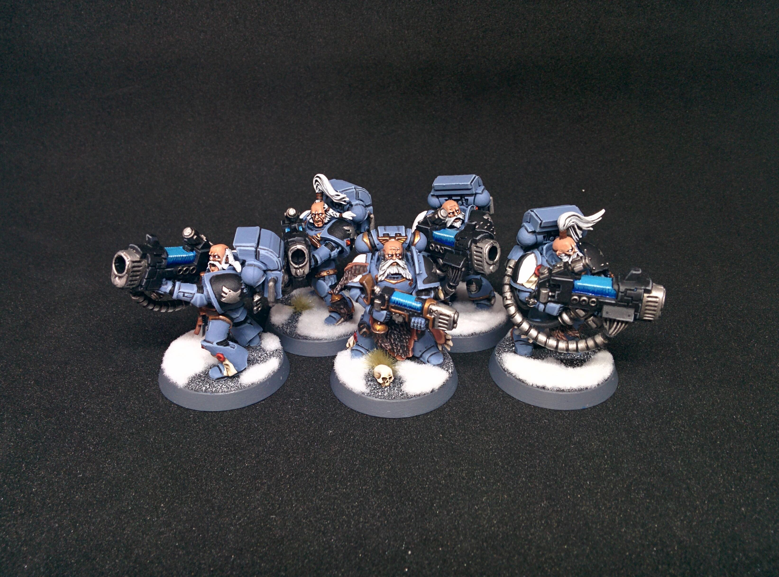 Ironwolves, Long Fangs, Plasma, Snow, Space Marines, Space Wolves, Vlka Fenryka