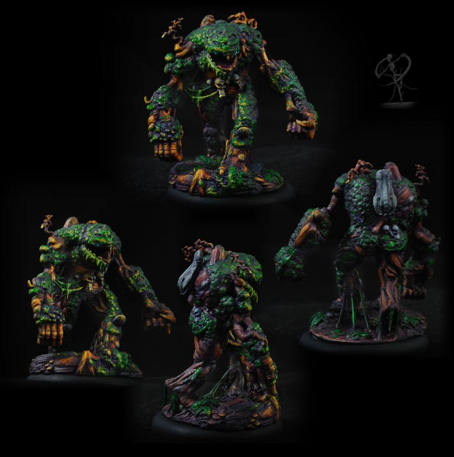 Elemental, Golem, Monster, Neverborn, Object Source Lighting, Plant, Swamp
