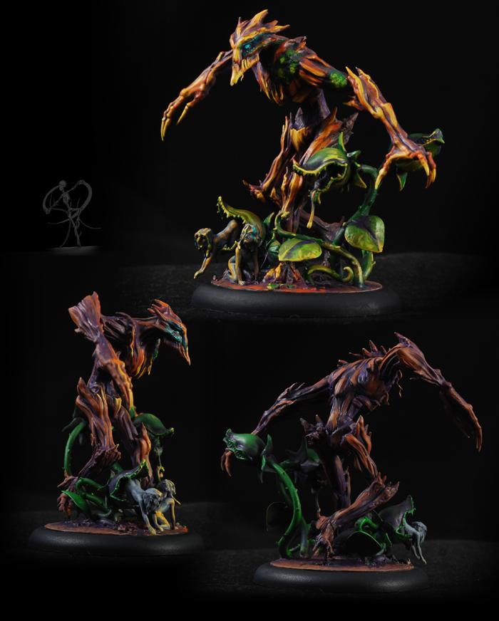 Elemental, Golem, Monster, Neverborn, Object Source Lighting, Plant, Swamp