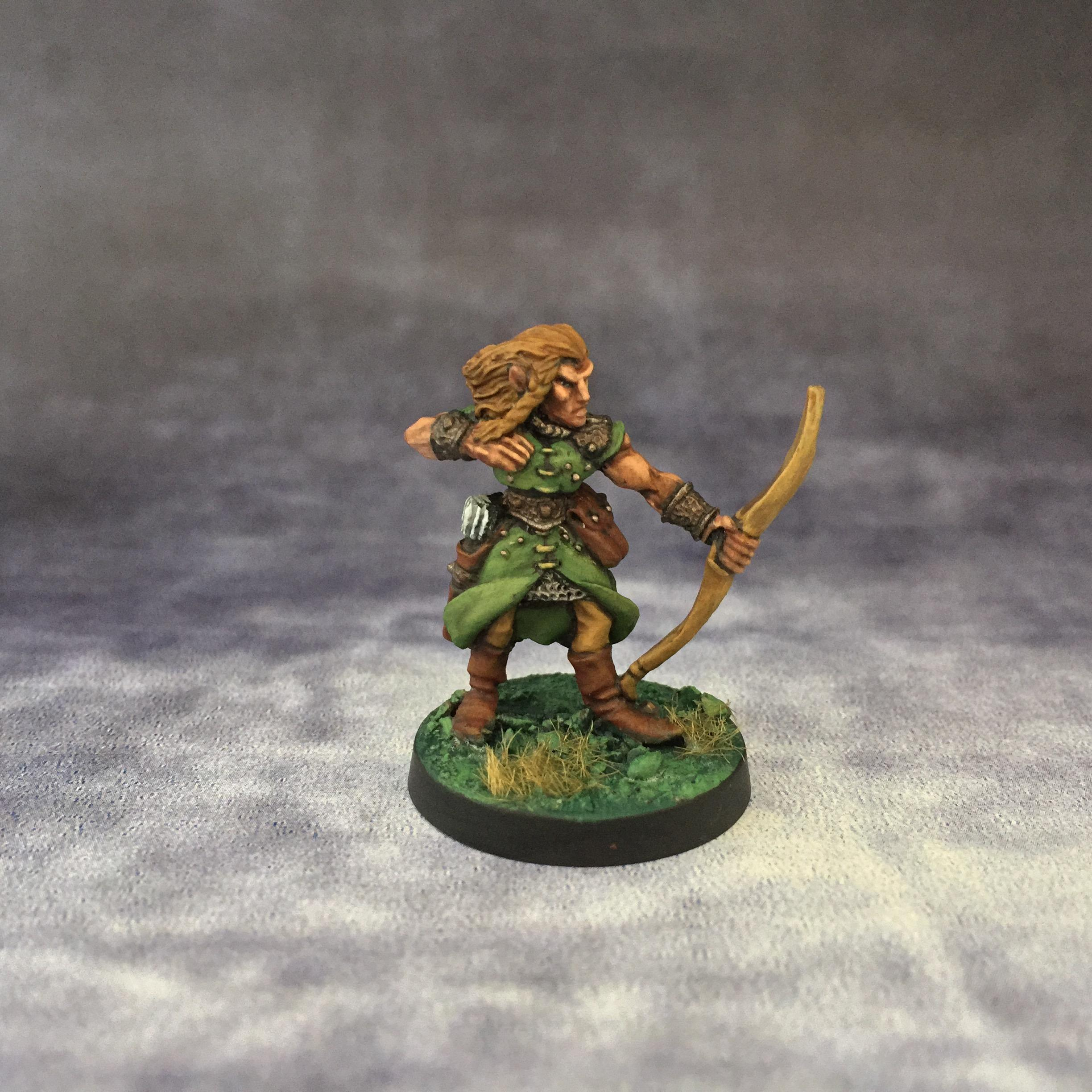 Archers, Citadel, Elves, Games Workshop, Jes Goodwin, June 2017, Oldhammer
