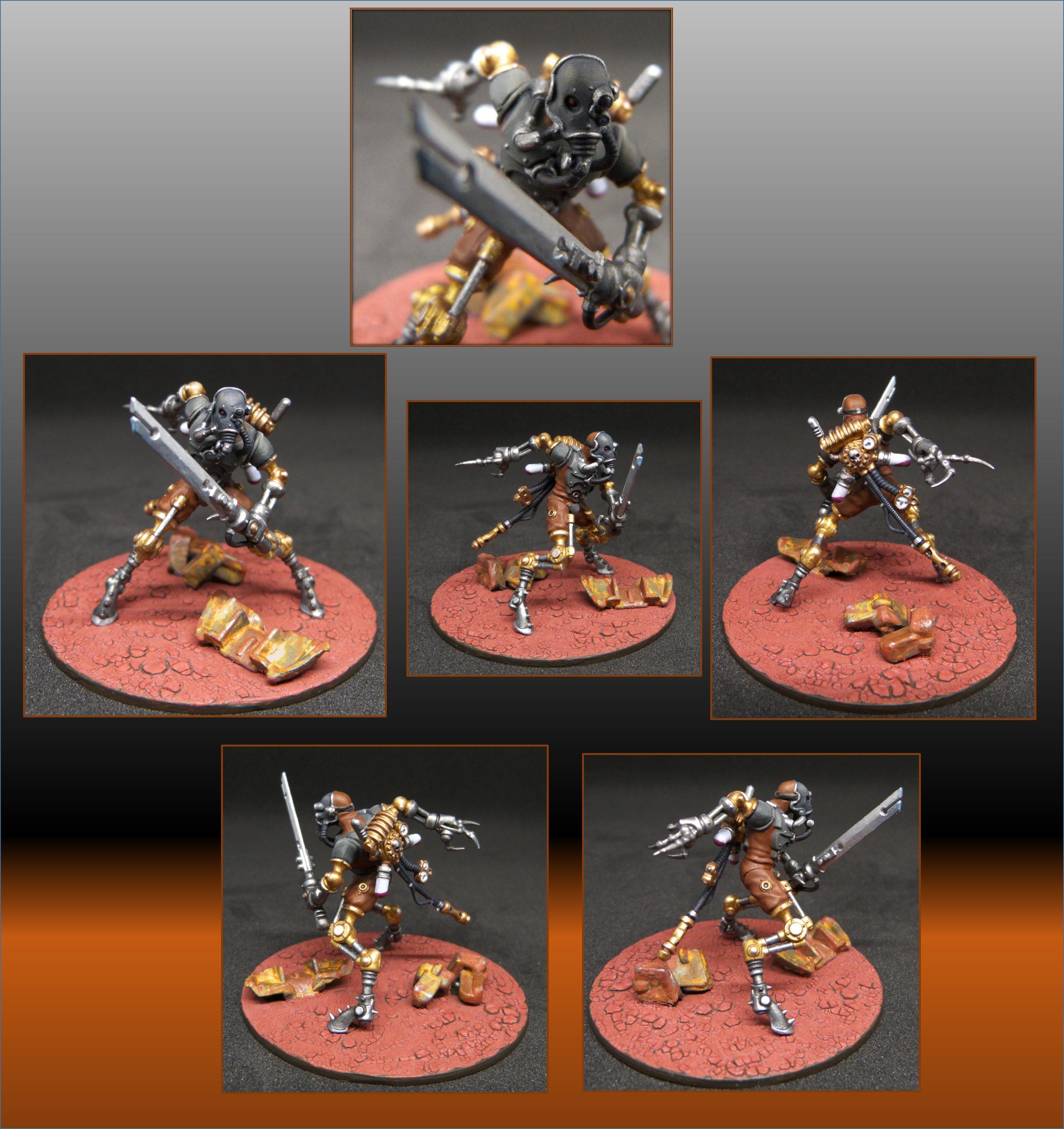 Adeptus Mechanicus, Cyborg, Rust, Ruststalker, Sicarians, Warhammer 40,000