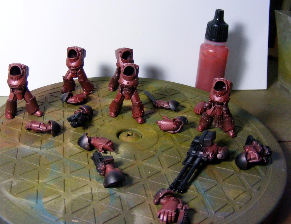 Terminator Armor, Word Bearers