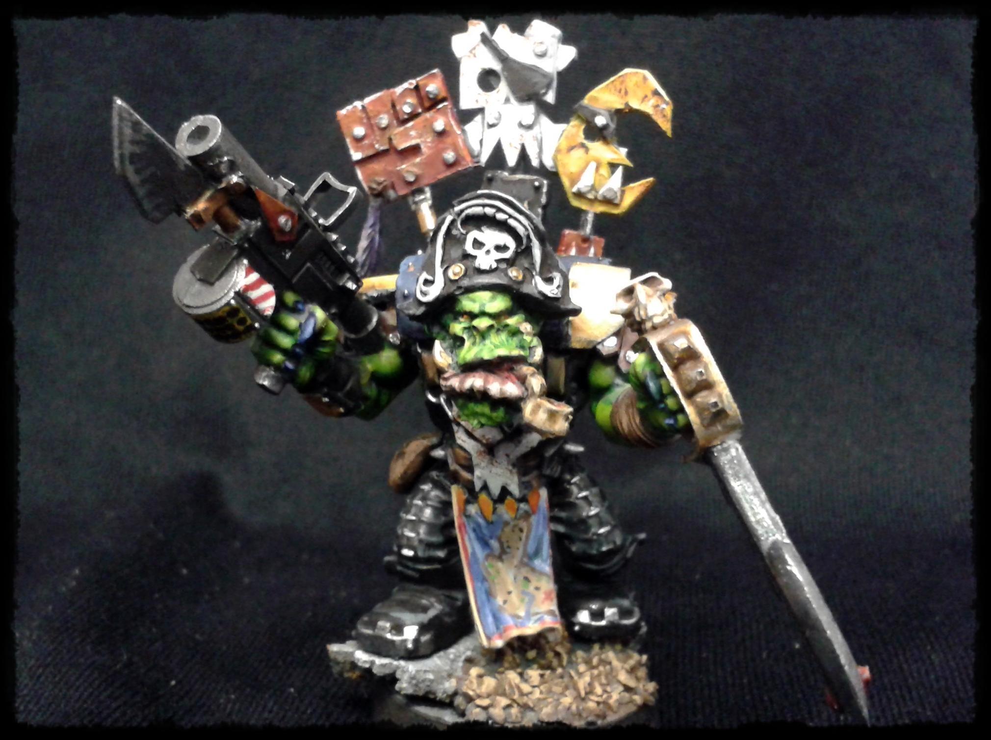 Conversion, Flash Gitz, Kaptin Badrukk, Nob, Orks, Pirates