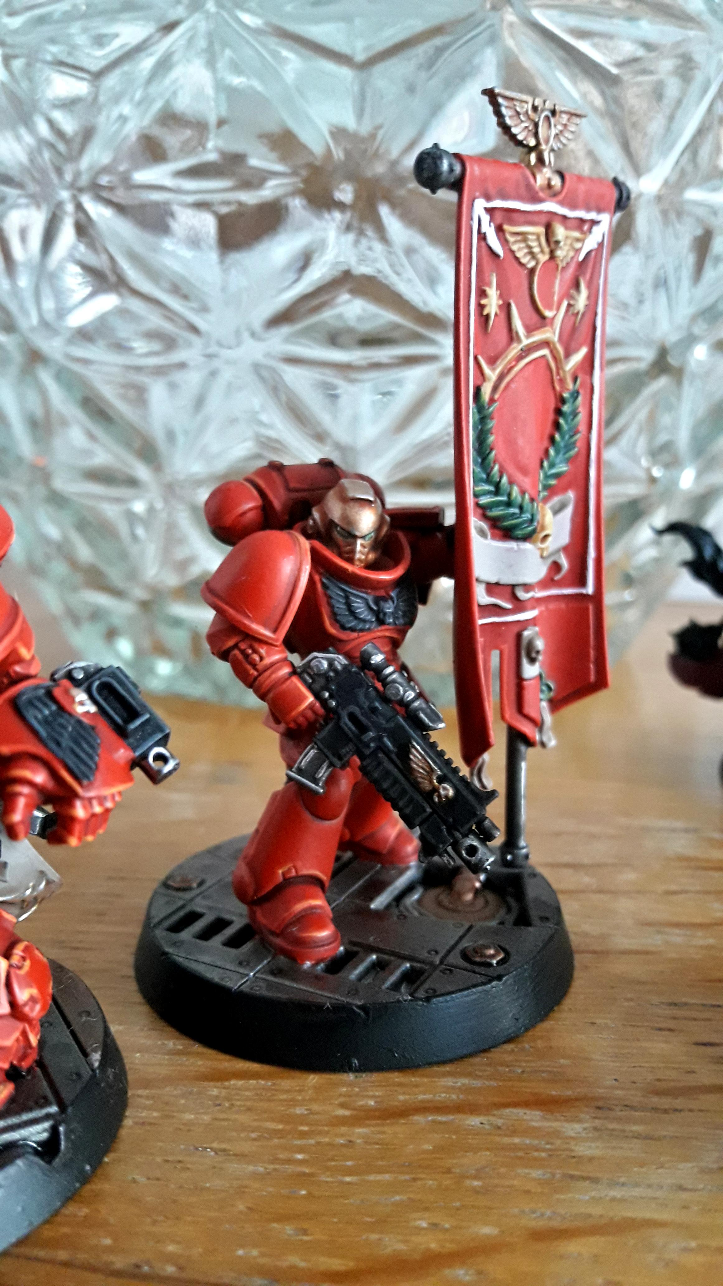 Ancient, Banner, Primaris, Space Marines