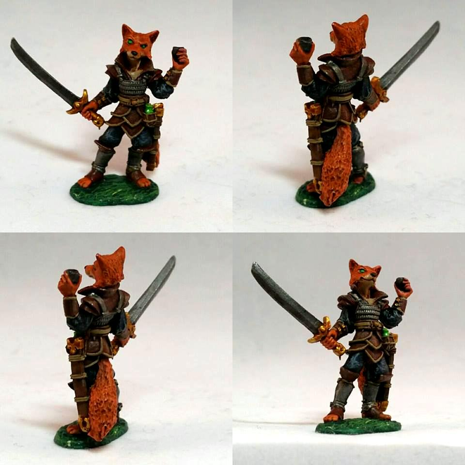 Bones, Character, Critter, Dungeons And Dragons, Fox, Pathfinders, Pirate, Reaper, Swashbuckler, Warhammer Fantasy