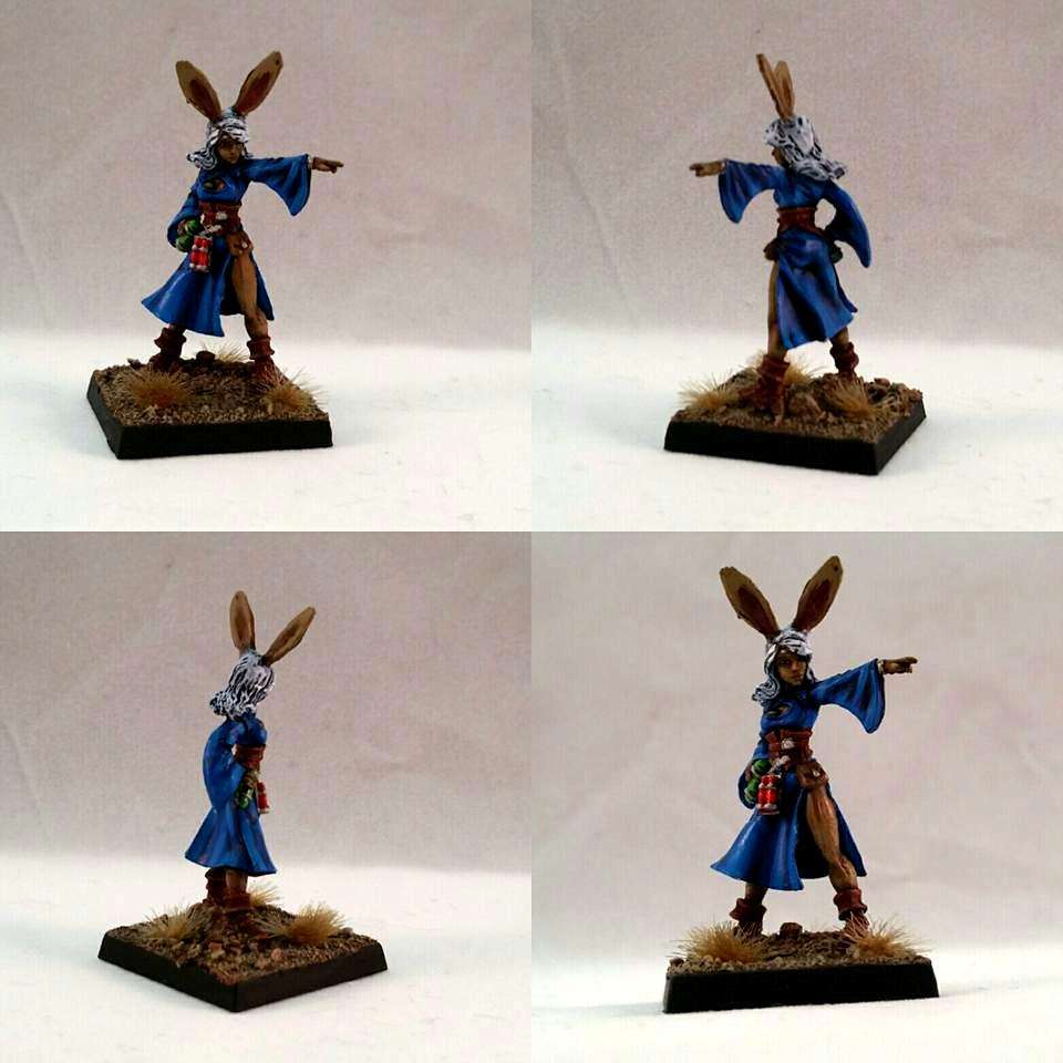 Bunny, Caster, Critter, Mage
