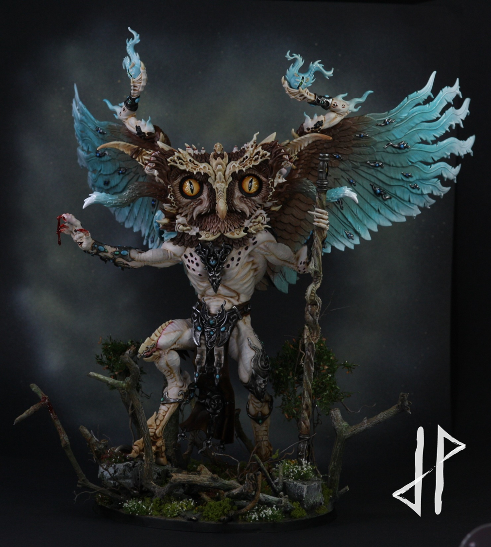 Change, Conversion, Daemons, Greater, Owl, Owl Of Change