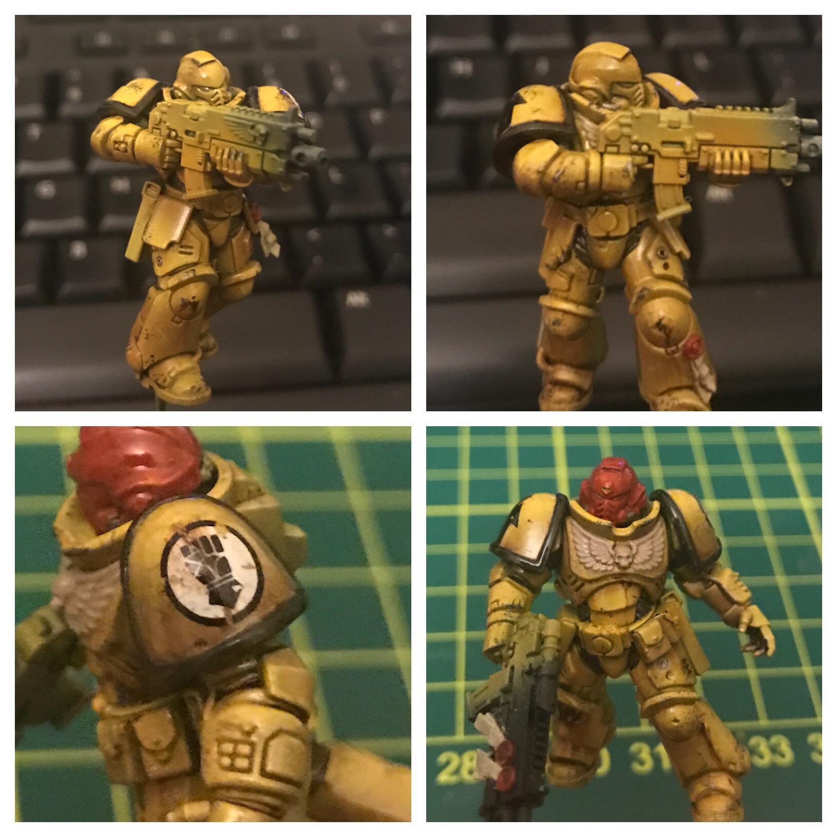 Imperial Fists, Primaris, Work In Progress