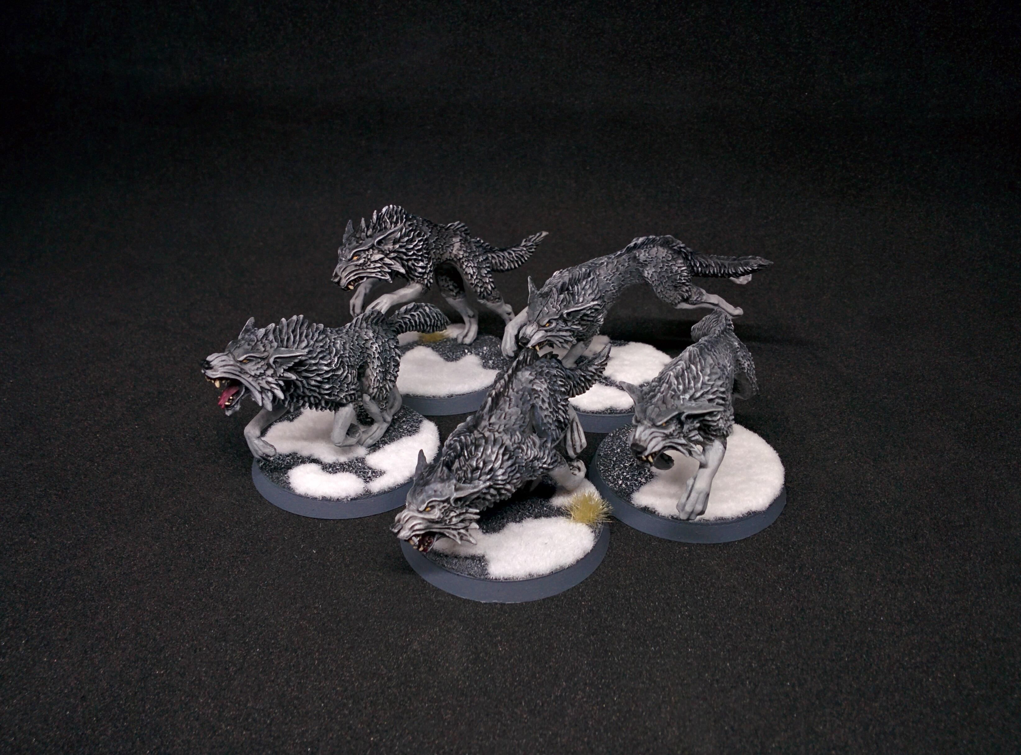 Fenris, Fenrisian Wolves, Snow, Space Wolves, Vlka Fenryka, Wolf, Wolfpack, Wolves