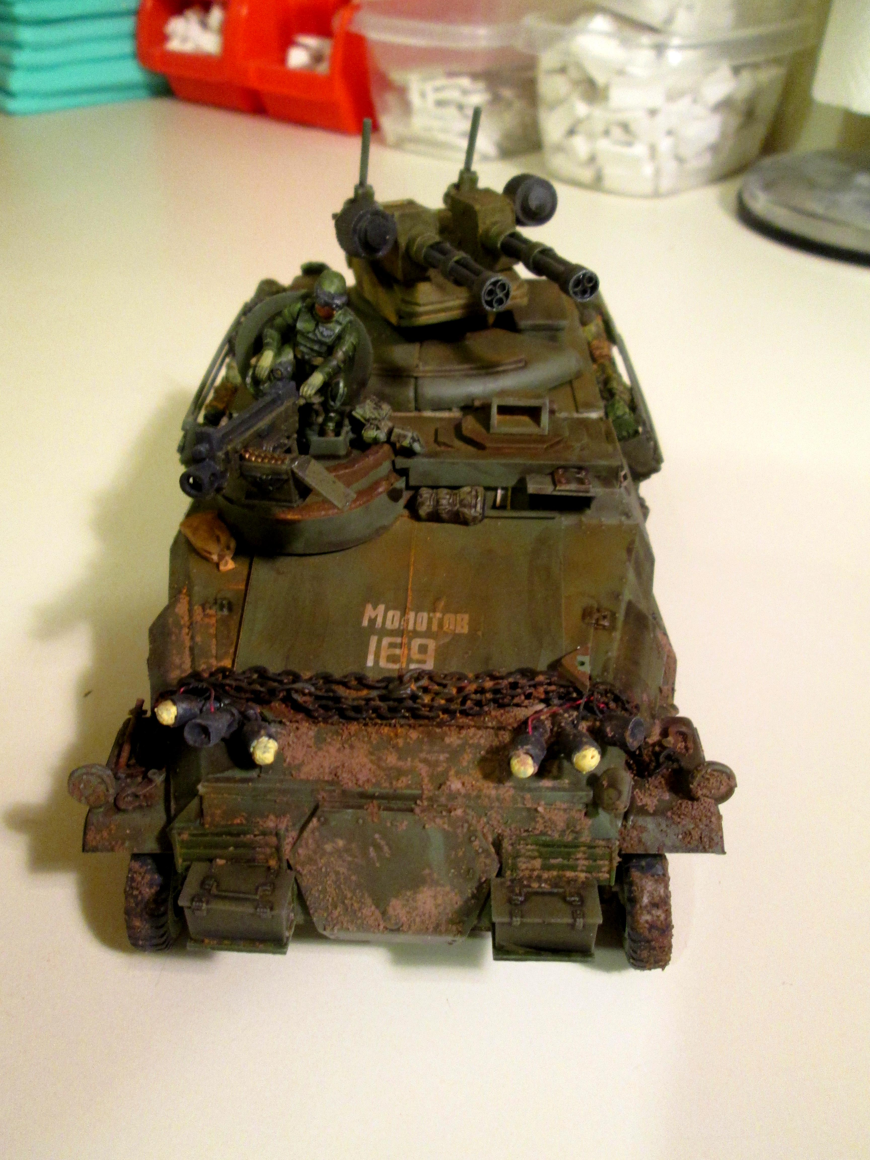 Chimera, Conversion, Hanomag, Panzerjaeger, Transport
