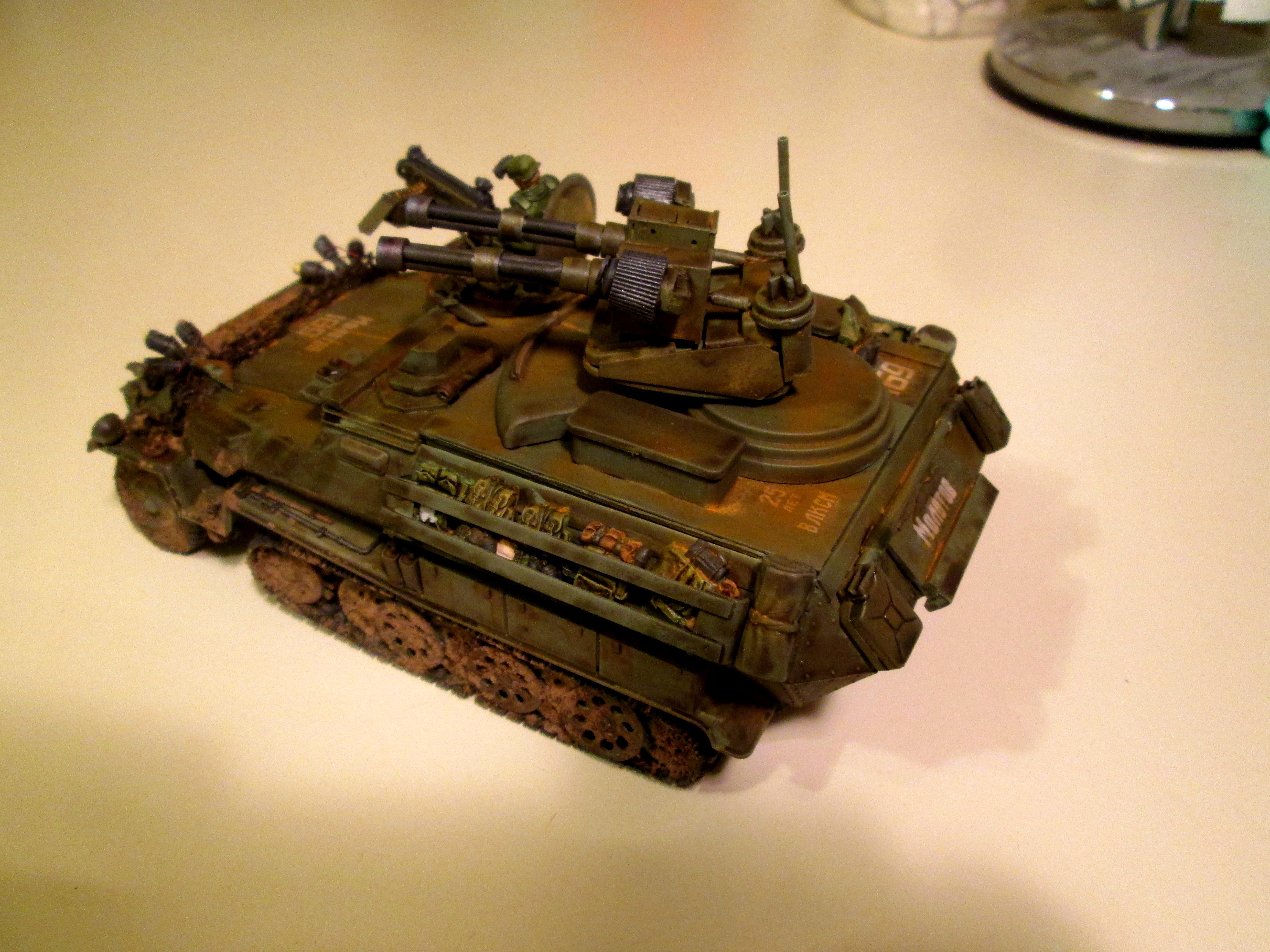 Chimera, Conversion, Hanomag, Panzerjaeger, Transport