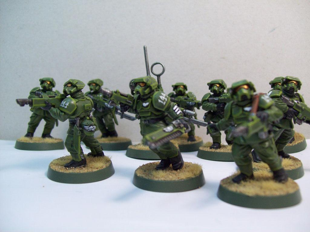 Cadians, Gas Mask, Imperial Guard