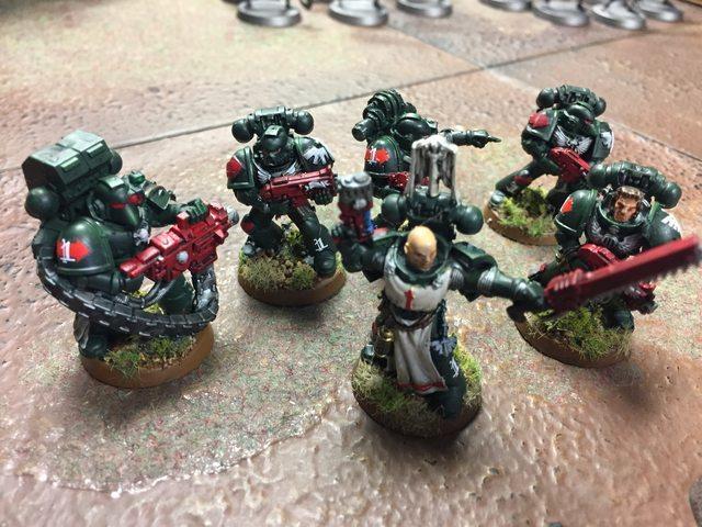 Dark Angels, Space Marines, Tactical Squad