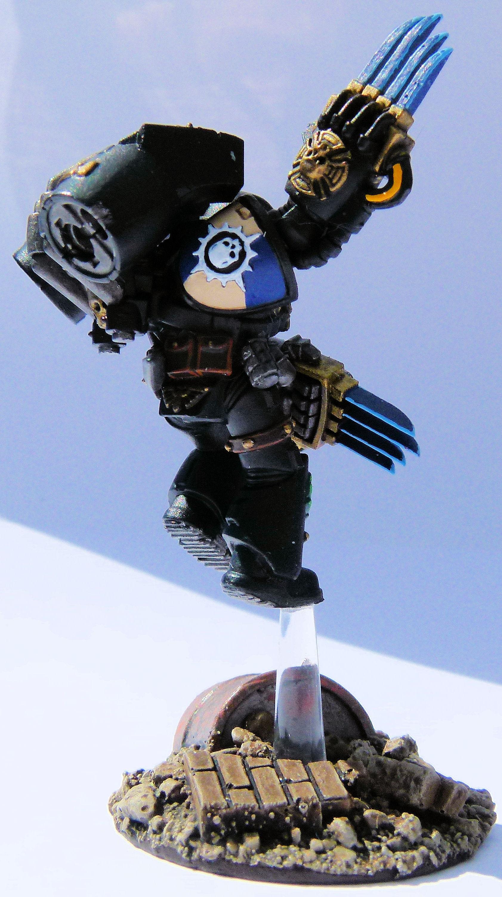 Deathwatch Novamarine Right
